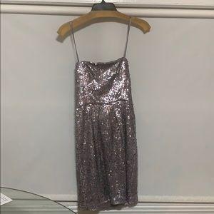 BCBG Purple sequin dress